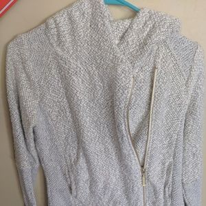 Gently used Lucky Brand side zip sweater